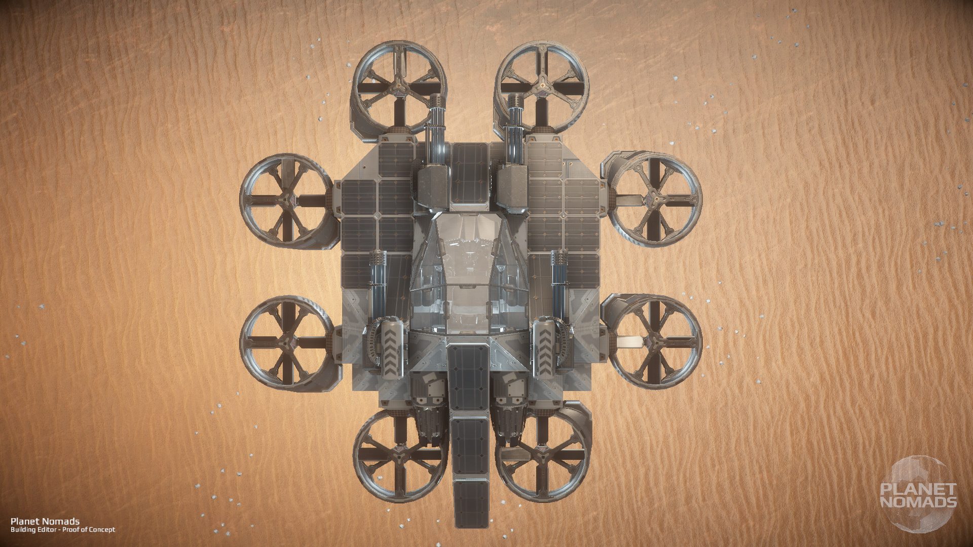 Planet Nomads Octocopter screenshots