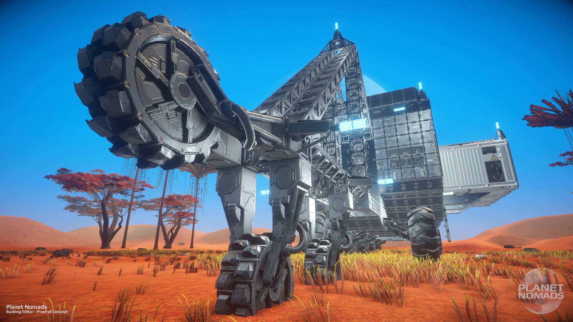 Planet Nomads – Mining Machine