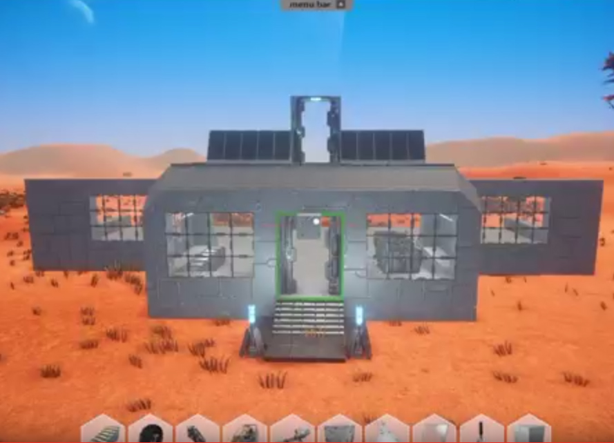 Planet Nomads built your own base