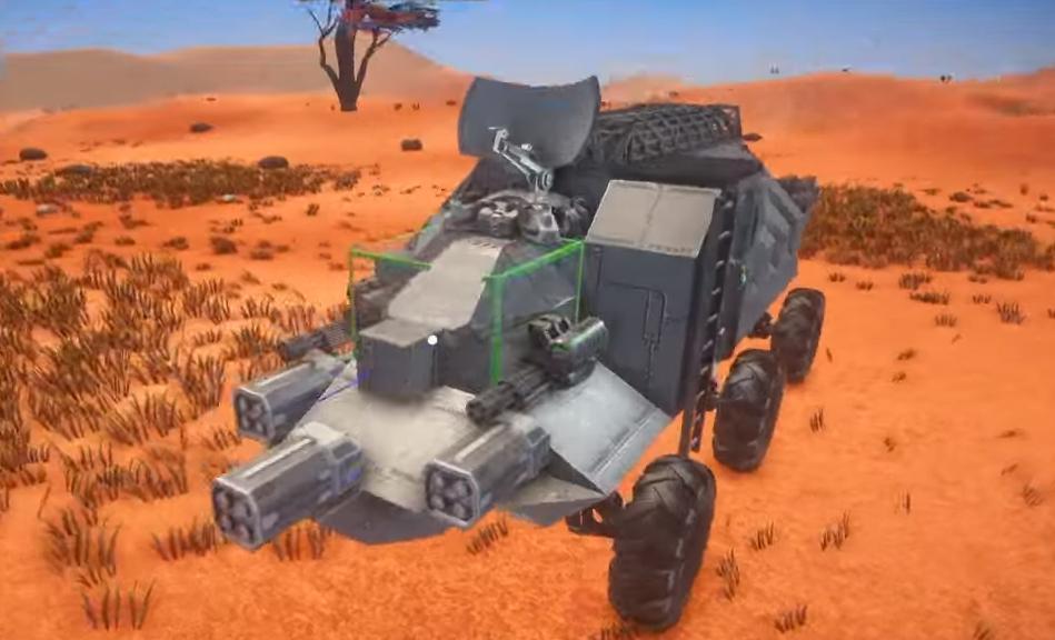 Planet Nomads editor – Postavte si vlastní vozítko